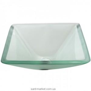 Раковина для ванной накладная Kraus прозрачная GVS-901-FR-19mm