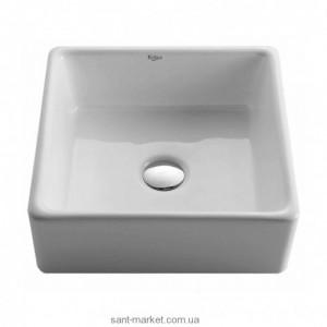 Раковина для ванной накладная Kraus белая KCV-120