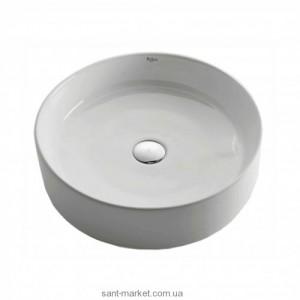 Раковина для ванной накладная Kraus белая KCV-140