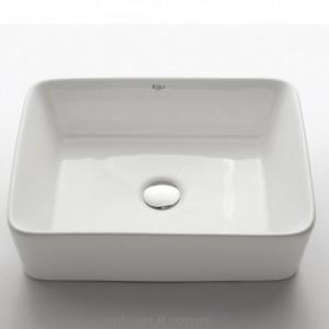 Раковина для ванной накладная Kraus белая KCV-121