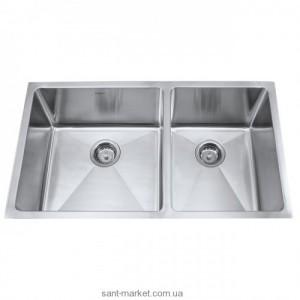 Мойка для кухни прямоугольная Kraus, 1.5 чаши, под столешницу, нержавеющая сталь, хром KHU-103-33