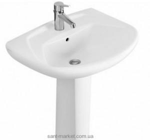 Раковина для ванной на пьедестал Villeroy & Boch коллекция Omnia classic белая 71226801