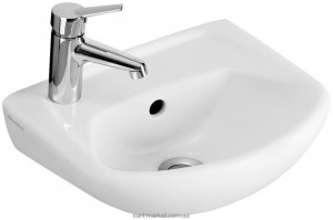 Раковина для ванной подвесная Villeroy & Boch коллекция Omnia classic белая 732636R1