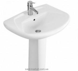 Раковина для ванной на пьедестал Villeroy & Boch коллекция Omnia classic белая 71226201