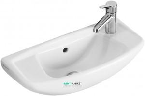 Раковина для ванной подвесная Villeroy & Boch коллекция Omnia classic белая 73285101