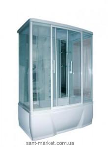 Гидромассажный бокс пристенный Triton Альфа 150х85х215 с ванной