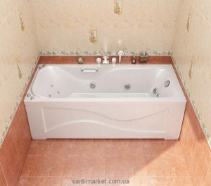 Ванна гидромассажная акриловая прямоугольная Triton Джулия 170х70х56