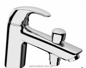Смеситель для ванны однорычажный с коротким изливом Hansa коллекция Pico хром 46372203