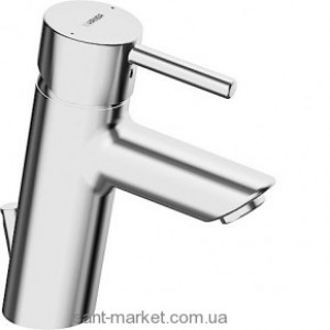 Смеситель для раковины однорычажный с донным клапаном Hansa колекция Vantis хром 52562277