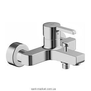 Смеситель однорычажный для ванны с коротким изливом Hansa коллекция Form хром 4974 2103