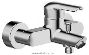 Смеситель однорычажный для ванны с коротким изливом Hansa коллекция Vantis хром 52442177