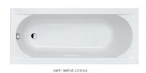 Ванна акриловая прямоугольная Sanplast коллекция Prestige 170х75х44 WP/PR + STP biew
