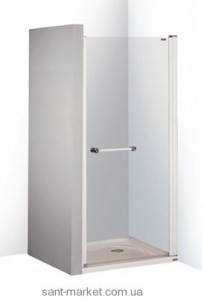 Душевая дверь в нишу SANPLAST PRESTIGE II стеклянная распашная 80х185 DJP-PRII/EX-80-S W0