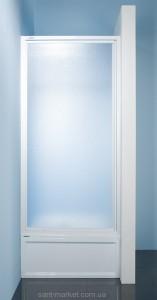Душевая дверь в нишу SANPLAST Classic стеклянная распашная 90х185 DJ-c-90-S W4