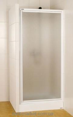 Душевая дверь в нишу Sanplast Classic стеклянная распашная 80х185 DJ-c-80-S W5