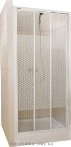 Душевая дверь в нишу SANPLAST Classic стеклянная раздвижная на роликах 120х185 DTr-c-120