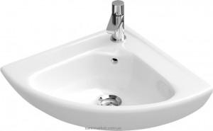 Раковина для ванной подвесная Villeroy & Boch коллекция O.Novo белая 73274001