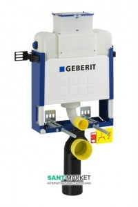 Бачок для унитаза скрытый Geberit Kombifix UP200 без механизма смыва 16.5х42х82 110.251.00.1