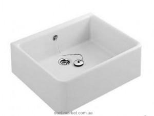 Раковина для ванной накладная Villeroy & Boch коллекция O.Novo белая 63221001