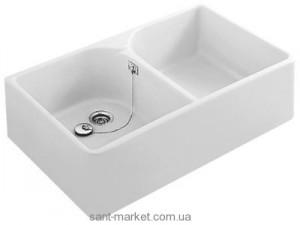 Раковина для ванной накладная двойная Villeroy & Boch коллекция O.Novo белая 63310001