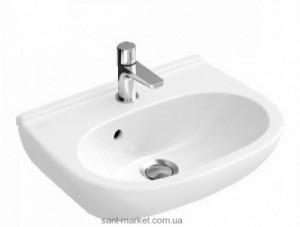 Раковина для ванной подвесная Villeroy & Boch коллекция O.Novo белая 53605001