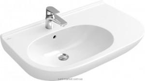 Раковина для ванной подвесная Villeroy & Boch коллекция O.Novo белая 51608G01