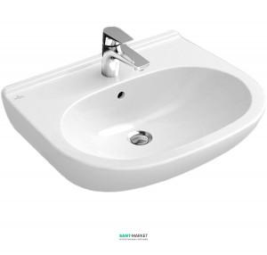 Раковина для ванной подвесная Villeroy & Boch коллекция O.Novo белая 51606001