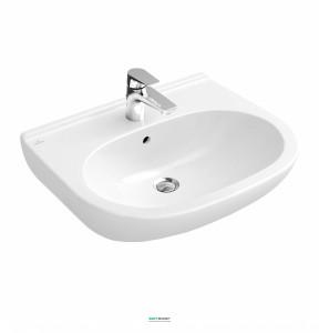 Раковина для ванной подвесная Villeroy & Boch коллекция O.Novo белый 51605501