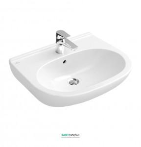 Раковина для ванной подвесная Villeroy & Boch коллекция O.Novo белый 51606501