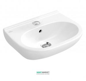 Раковина для ванной подвесная Villeroy & Boch коллекция O.Novo белый 51665501