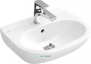 Раковина для ванной подвесная Villeroy & Boch коллекция O.Novo белая 51665601