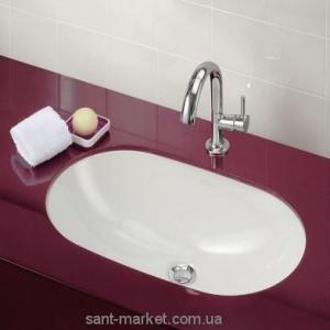 Раковина для ванной встраиваемая Villeroy & Boch коллекция O.Novo белая 41626001