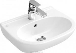 Раковина для ванной подвесная Villeroy & Boch коллекция O.Novo белая 51666201