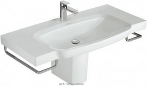 Раковина для ванной подвесная умывальник-столешница Villeroy & Boch коллекция Sentique белая 5142A001