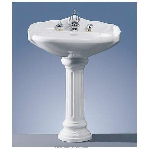 Раковина для ванной на пьедестал Jorger коллекция Leonardo белая 10250000100