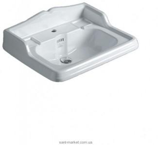 Раковина для ванной подвесная Simas Arcade 70х54х26 белая AR834