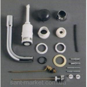 Simas ARCADE: Сливной механизм д/унитаза с низкой трубой, хром D11