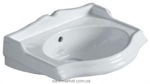 Раковина для ванной подвесная Simas Arcade 37.5х28х14 белая AR035