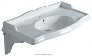 Раковина-столешница для ванной подвесная Simas Arcade 90х56х20 белая AR864