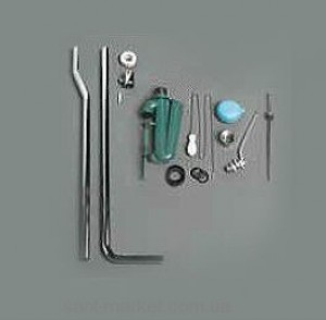Simas ARCADE:Комплкт: труба+механизм, бронза R01/BR