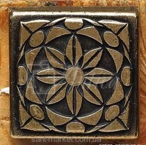 Adex плитка Taco metal -1 dorato 3x3 ADNE8087