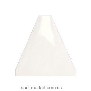 Adex плитка Triangulo acolchado blanco Z 10x10 ADNE8033