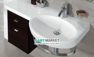 Раковина для ванной подвесная Villeroy & Boch коллекция Variable белая 5158A001