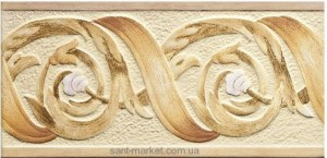 TAGINA NINFEA Декор 15X30,5 , цвет-NINF.COR.GHIRL.ARA 2YD34CG