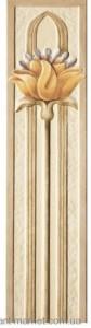 TAGINA NINFEA Декор 15X61, цвет- NINF.VERT.LESENA ARA 2YD34VL