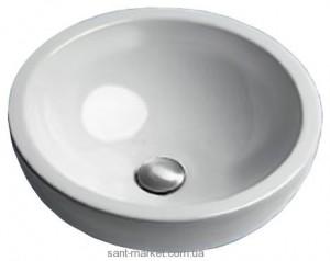Раковина для ванной накладная Catalano коллекция Sistema Cx белая 45AC