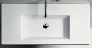 Раковина для ванной подвесная умывальник-столешница Catalano коллекция Star белая 105ST