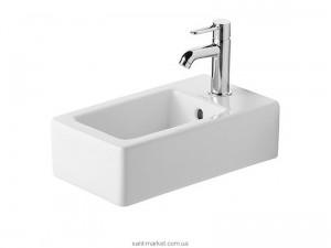 Раковина для ванной подвесная Duravit Vero 45х25х14.5 белая 0702250000