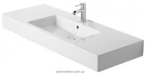 Раковина для ванной на тумбу умывальник-столешница Duravit коллекция Vero белая 0329120000