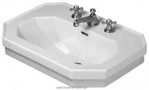 Раковина для ванной подвесная Duravit коллекция 1930 Series белая 0438800000